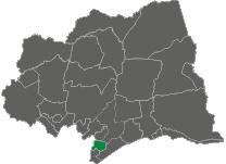 mapa Municipio de Nicolich Ciudad Gral. Líber Morena
