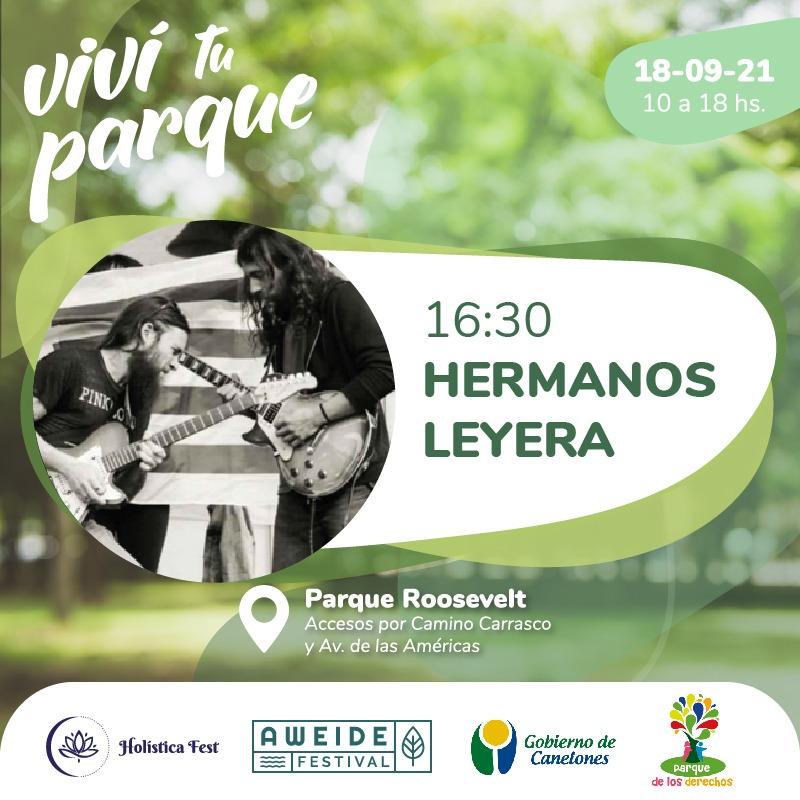 Feria Holística y Vegana, Viví tu Parque, Hermanos Leyera