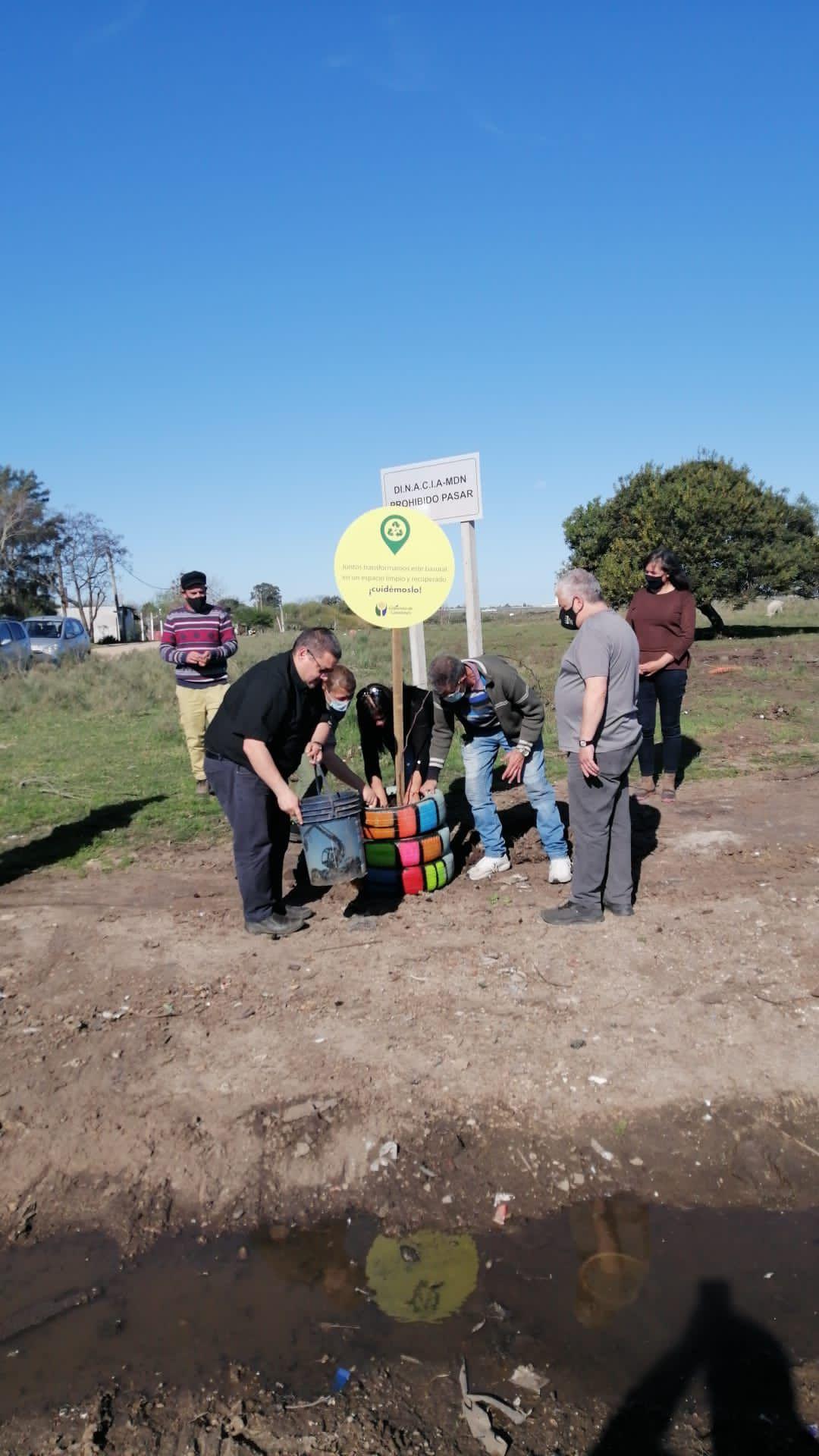Plan de Erradicación de Basurales en Colonia Nicolich, Ciudad Gral. Liber Seregni
